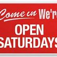 Emergency appointments available on Saturdays